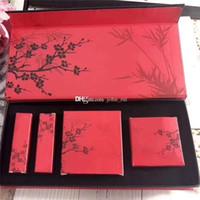 Nouvelle arrivée M Brand Marque Plum Makeping Set 9 Couleurs Palette à ombre + Blush + 2pcs Matte Bullet Lipstick 4 en 1 Maquillage Cosmétique Set