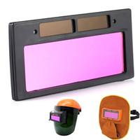 ALKTech 1pc NUOVO solare Saldatura Lens Filter finestra di apertura Ombra automatica oscuramento Occhiali Shield Casco Saldatura Maschera riparare o sostituire il Lens