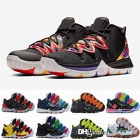 2019 Mens 5s Taco Black Magic Kyrie Basketball Shoes Multi- C...