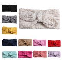 Bebe Headbands Turban Knotted Girl's Hairbands para niños pequeños recién nacidos y niños