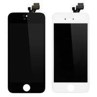 Iphone 5G LCD Ekran Dokunmatik Ekran Sayısallaştırıcı tam Yedek Tamir Parçaları Yüksek Kalite Cep Telefonu LCD Ekran