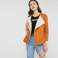 Fashion Suede Jackets Women Autumn Winter Hot Sale Thicken F...