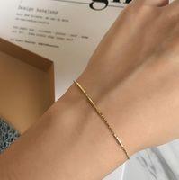 Schmuck S925 Sterling Silber Armbänder dünne Perlenarmbänder für Frauen heiße Mode frei von Versand