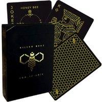 Ellusionist Killer Bee Cartes à jouer Bicycle pont USPCC Poker Jeux de cartes Magie astuces pour Props Magicien professionnel