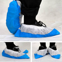 Disposable Shoe Covers Blue PP Patchwork Color Boot Covers O...