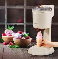 220 V Sıcak Satış Yumuşak Hizmeti Dondurma Makinesi Dondurma Makinesi Eski Moda Dondurma Makinesi