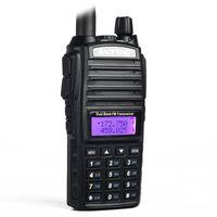 Baofeng UV-82 Walkie Talkie Talkie Dual-Band 136-174 / 400-520 MHz FM Jambon Deux voies Radio Transceiver Talkie Walkie Talkie