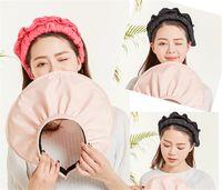 뜨거운! 한국어 바이저 여성 여름 태양 모자 쉘 안티 UV 여행 야외 선 스크린 큰 모자 챙을 비치 모자 K20을 양산