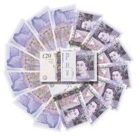 Großhandel Stütze Pretend UK Geldpapier Kopie Banknote Prop-Geld 100pcs / Packung