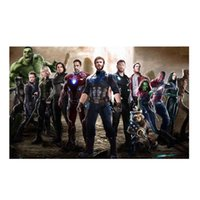 HOT Marvel's The Avengers Metal Painting Martin Targhe in metallo Tin Painting 20 * 30cm Bar, Cafe, KTV Home shop Decorazioni murali Pittura in metallo