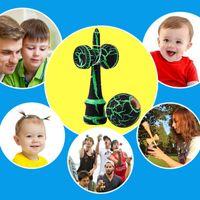 Nieuwe Collectie Kid Kendama Speelgoed Houten Houten Kendama Bekwame Jothing Bal Toy voor Kinderen Volwassen Verjaardag Kerst Gift Toy