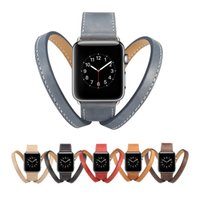 New Genuine Leather Belt Bracelet für Apple Watch Strap 38mm 42mm Rindsleder für Apple Watch Band Series 1 2 3 4