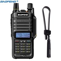 2020 BAOFENG UV-9R PLUS 15W IP67 impermeable Walkie Talkie High Power CB Jamón 20km Larga Range UV9R Portátil Radio de dos vías para la caza