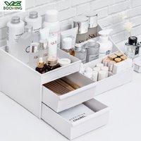WBBOOMING cosmétiques Boîte de rangement Tiroir Desktopplastic Maquillage Coiffeuse Soins de la peau Maison rack Organisateur Bijoux Container