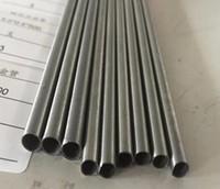 Tubo de titanio puro más confiable y tubo de aleación de titanio tubo de pared delgada de titanio tubo de escape venta caliente