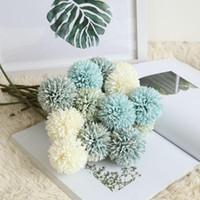 1Pcs 29см Искусственный цветок одуванчика Шелковый цветок гиацинта Свадебные украшения для дома Party Hotel Garden украшения