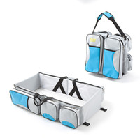 Mummy Diaper Bags Portable Nursery Baby Tote Bags Infant Tra...