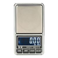 ميني جيب مقياس رقمي للذهب الاسترليني الفضة والمجوهرات التوازن الوزن الدقة المقاييس الإلكترونية 0.01g / 0.1g