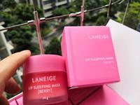 Новая Упаковка Laneige Специальный уход для губ Спящая маска бальзам для губ Помада увлажняющая антивозрастной против морщин LZ Марка губ Косметика 20г