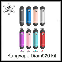 Cartuccia originale Kangvape Diam520 Pod Kit in lega di zinco 300mAh Vape Cartuccia da 0,7 ml per olio denso vs kit mini k4