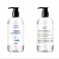Hand Sanitizer With Vitamin 300ml Wash Free for Home Office ...