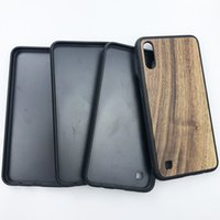 Real Wood Мобильный телефон чехол для Samsung A10 M30 Blank Wood + TPU для Samsung iPhone Huawei случай может на заказ Ваш дизайн