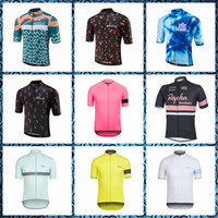 2019 Rapha Morvelo 여름 패션 스타일 사이클링 짧은 빠른 건조 슬리브 저지 통기성 야외 스포츠 착용 53102