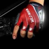 Gants de cyclisme d'été des hommes à moitié des doigts et des femmes à cheval VTT équipement court gants de vélo doigt moitié des doigts