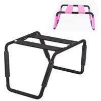 Sex Chair Furniture Regolabile in altezza Letto per sedia con temperamento e interesse Sedia Prodotto per il sesso ausiliario per donna Uomo 5-9