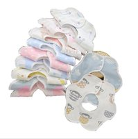 Baby Bibs Burp Cloth Print Arrow Wave Triangle Kids Bibs Cotton Bandana Accessories Baby Feeding Newborn Infant Care