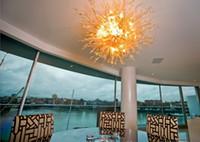 Villa Üflemeli Cam Avize Murano Cam Sanatı kolye Lambalar% 100 Ağız Borosilikat Düğün Ev Dekorasyonu Üflemeli