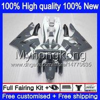 Кузов для KAWASAKI ZX 636 600CC ZX-636 1994 1995 1996 1997 213MY.11 ZX636 ZX-6R ZX600 ZX 6 R 6R ZX6R 94 95 96 97 обтекатели серый белый