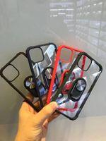 Военного класса Kickstand Защитный чехол для Galaxy Note 20 10 Pro A10 A20 A40 A50 A70 A91 A81 P Смарт 2020 Y9S MOTO E7 G БЫСТРО LG Aristo 5