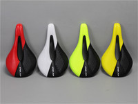 Sela de Assento Da Bicicleta de carbono respirável MTB Selas Da Bicicleta Da Estrada de Corrida de Bicicleta de Montanha Sela PU Macio Almofada Do Assento Da Bicicleta Peças De Reposição 240 * 143mm