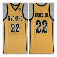 newest f5f4f 4a38f 2019 #22 Larry Nance Jr Wyoming Cowboys College Retro ...