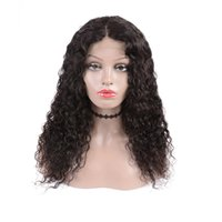 4*4 Lace Front Wigs Human Hair Water Wave Lace Front Wigs vi...