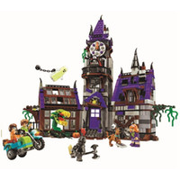 Scooby Doo Mystery Mansion Building Blocks Scoobydoo Shaggy ...