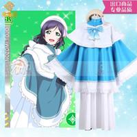 الحب لايف نوزومي توجو جوقة عيد الميلاد جديد هالوين كرنفال اللباس حلي H