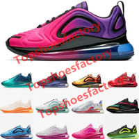 Top quality running shoes total eclipse sunset northern lights day Night Be True mens womens Neon throwback future designer sneakers free sh