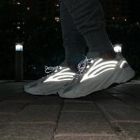 Chaussures de course pour hommes 700 V2 Statique 3M Runner Runner Runner de réflexion OG Teal Carbon Blue Utiliey Noir Vantae Waverunner Femmes Designer Sport