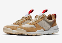 2017 Release Tom Sachs x Craft Mars Yard 2.0 TS Sneaker Limited Sneaker Top Quality Natural Sport Red Maple Scarpe da corsa AA2261-100 US 5-11