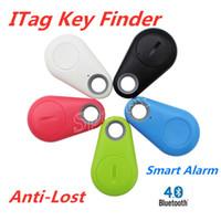 Hot Selling Key itags Smart Key Finder Bluetooth Locator Anti-Lost Alarm Child Tracker Fernbedienung Selfie für iPhone Android + Retail Box