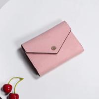 Дизайнерский кошелек Оптовая продажа Леди многоцветный портмоне короткий кошелек красочный держатель карты оригинальная коробка женщины классический карман на молнии держатель карты