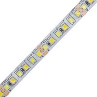 Umlight1688 2835 LED 유연한 스트립 / m 테이프 빛 CW / WW 듀얼 화이트 색상 온도 조절 16.5ft 5m 12V 24V 번 색상 180leds