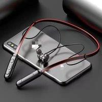 G01 Bluetooth casque magnétique écouteurs sans fil sport Casque Stéréo Bass Music In-Ear Casque Avec Microphone Contrôle Du Volume