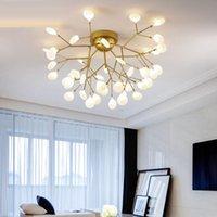 Modern Led candelabro candelabros iluminação de teto Luz Lamparas de techo Hanglamp Suspensão Luminaire Lampen AC 110V-240V