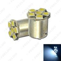 40PCS 화이트 1157 BAY15D 6SMD 5050 전원을 켜고 주차 후진 브레이크 자동차 LED 전구 램프 # 1671