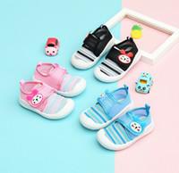 2019 الجديدة Emmababy طفل الرضيع طفل بنات طفل بنين شبكة رياضة الجري أحذية عارضة لطيف