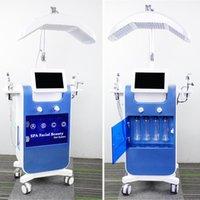 Hign End Oksijen İnfüzyon Yüz Cilt Tedavisi Mikrodermabrazyon Makinesi Bio Mikro Akdeniz Yüz Germe Oksijen Terapisi Cilt Gençleştirme Cihazları
