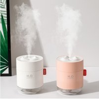 Portátil ultra-sônico Umidificador 500ML Snow Mountain H2O USB Aroma Air Difusor Com Romantic Noite Lamp Humidificador Difusor